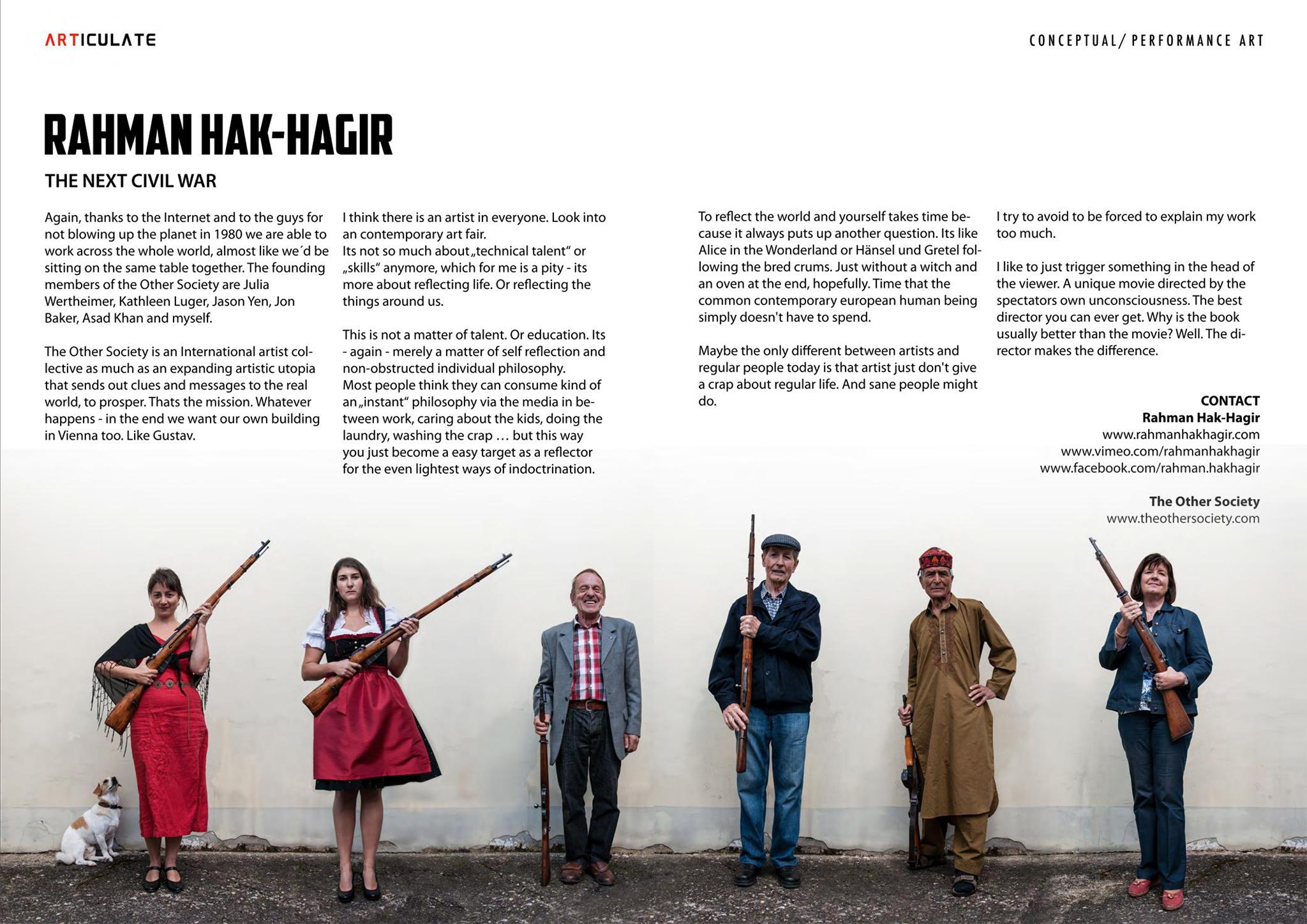 ARTiculate #4 Rahman Hak-Hagir
