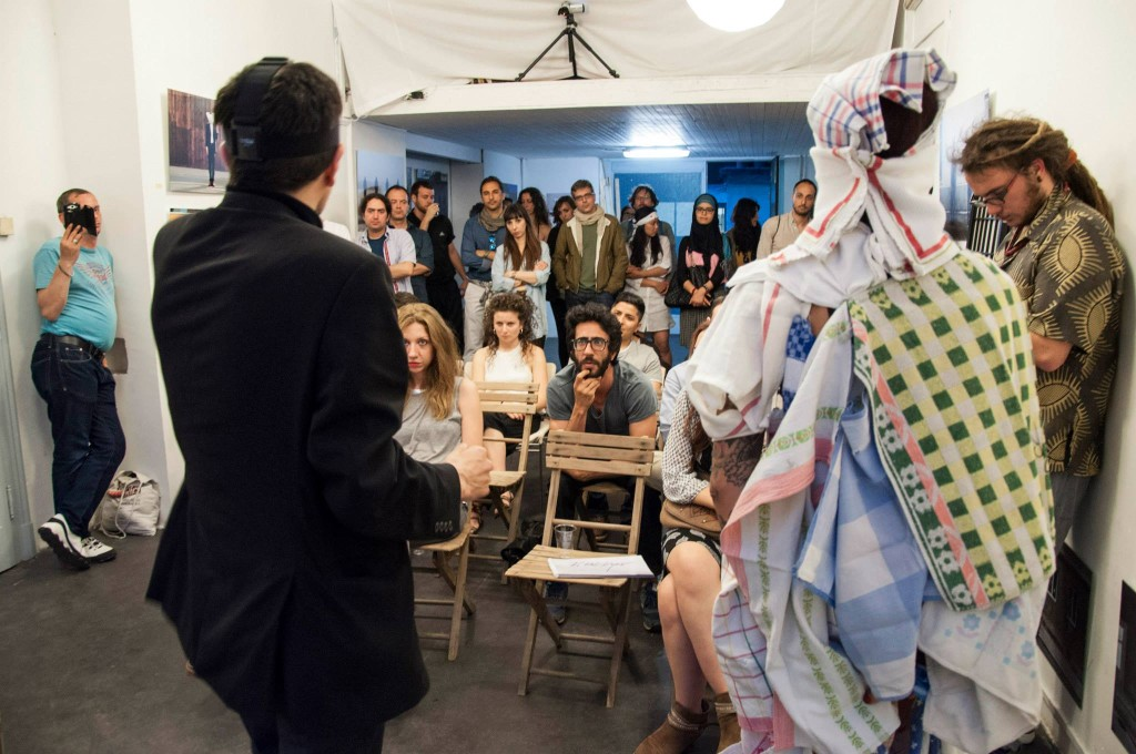 Rahman Hak-Hagir, Manuela Maroli COVER (THE) GIRL, Mailand 2015 Viale Bligny 42