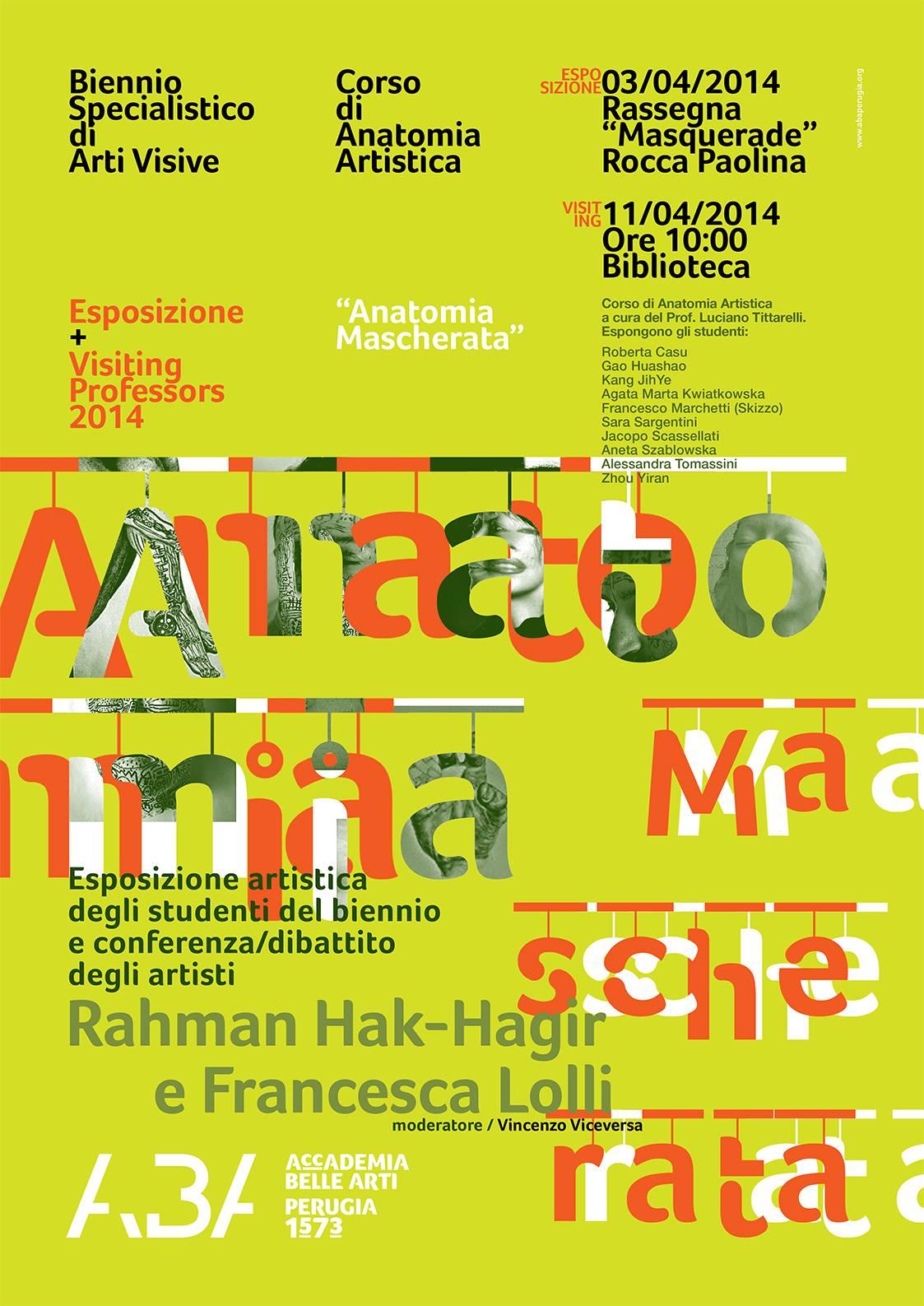 Rahman Hak-Hagir - Accademia Belle Arti Perugia