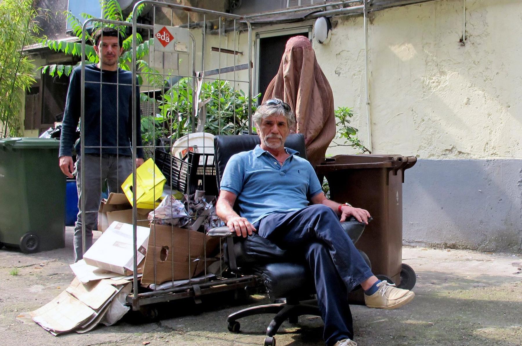 Rahman Hak-Hagir - @ VIALE BLIGNY 42 ARTIST SHOT