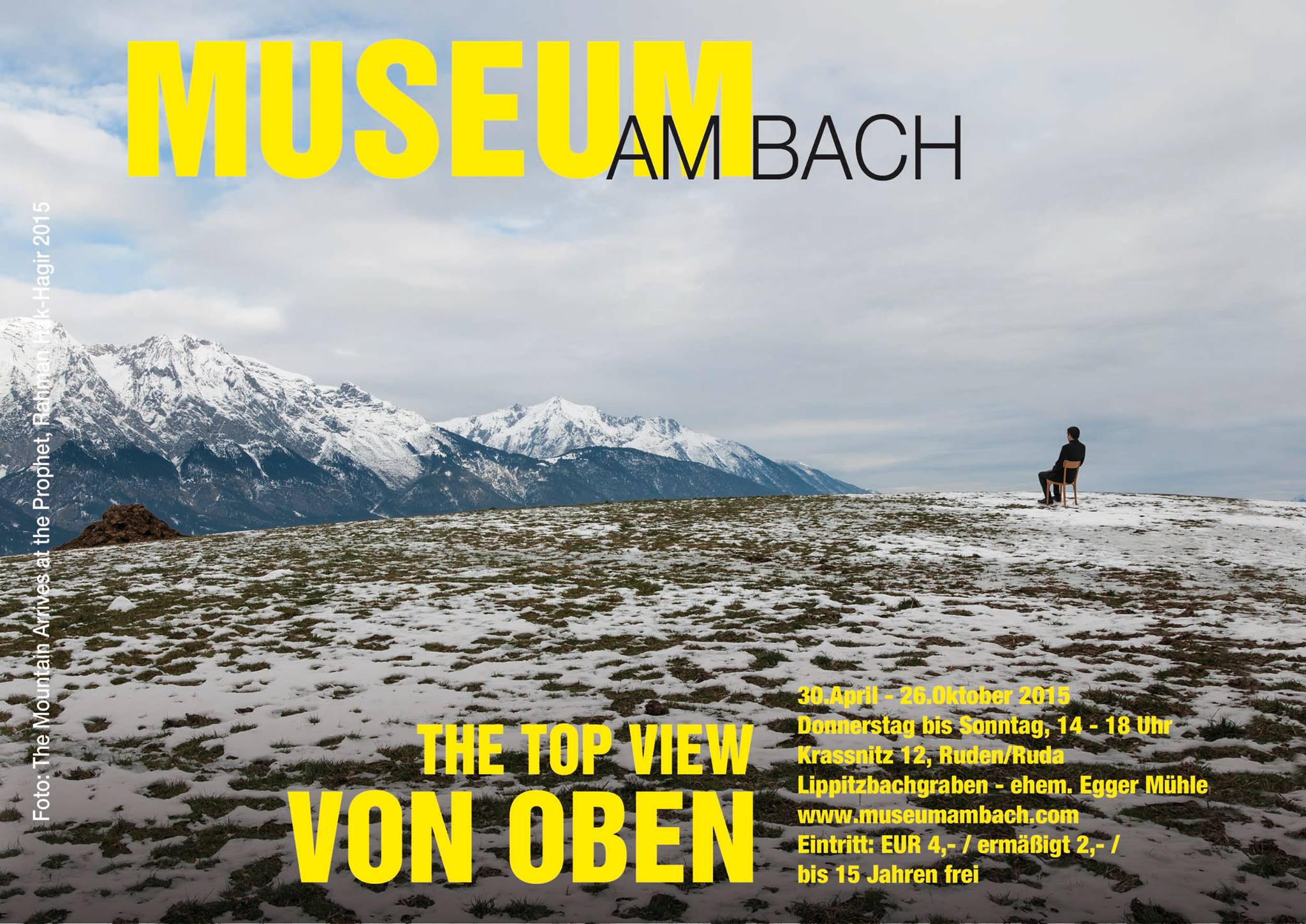 MUAB - Museum am Bach, Rahman Hak-Hagir