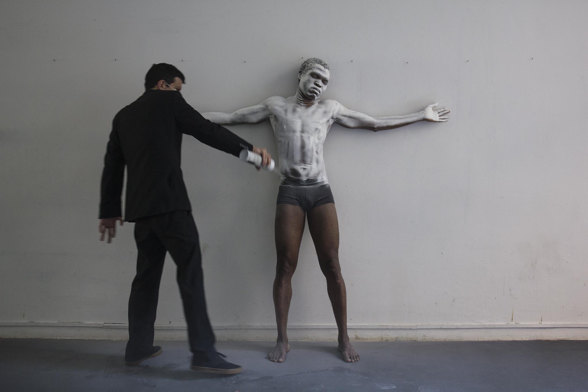 Rahman Hak-Hagir, Alfie Nze, Alice Bachmann - WHITE MASK BLACK SKIN (2015)